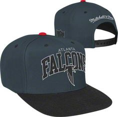 Atlanta Falcons Mitchell & Ness Arch Logo 2-Tone Snapback Hat #falcons #nfl #football