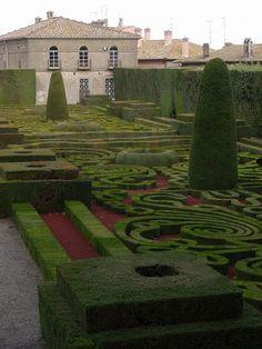 Hedge Gardens at Villa Lante - Bagnaia, Italy