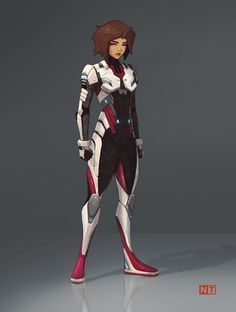 Character concept (Sci Fi), Nick Tagney