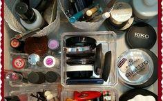 organizzazione make up mobile bagno Con queste semplici soluzioni mi sto trovando bene il cassetto è in ordine con facilità e la mattin make up trucco ikea leroy merlin