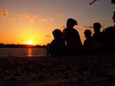 Sunset in Tarpon Springs, Florida
