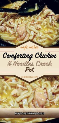 Comforting Chicken & Noodles Crock Pot, Delicious recipes to cook with family and friends. Comforting Chicken & Noodles Crock Pot, Delicious recipes to cook with family and friends. Crockpot Dishes, Crock Pot Slow Cooker, Crock Pot Cooking, Healthy Crockpot Recipes, Slow Cooker Recipes, Delicious Recipes, Cooking Recipes, Best Crockpot Meals, Comfort Food Recipes