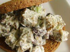 Recipe Starter : Seitan salad sandwich {happy thanksgiving!} by Singerinkitchen