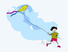 15 August.....Independence Day of India,  In Delhi people love to fly kites :)