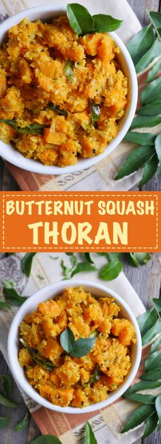 Butternut Squash Thoran by Ashley of MyHeartBeets.com