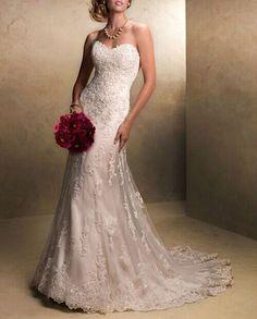 2015 nuovo vestito sexy halter da sposa sirena / abito / Taglia 34-44