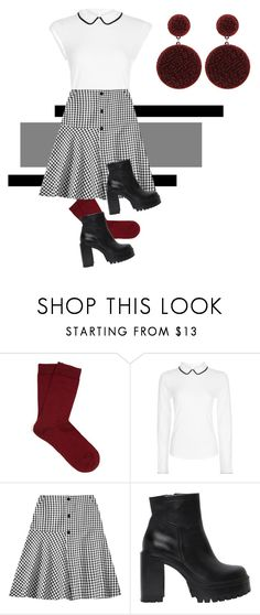 """Set #15"" by heartsintherightplace ❤ liked on Polyvore featuring Falke, Hobbs and Strategia"