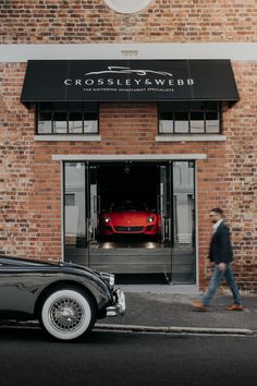 The entrance to Crossley & Webb with the Ferrari 599 GTO visible (sold earlier in In 2019, Gto, Cape Town, Ferrari, Entrance, Entryway, Door Entry