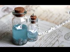 Paper Boat Vial Tutorial - Love this! Excellent tutorial!!