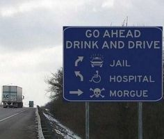 'Funny Drunk Signs' can have several connotations. Are the signs themselves drunk? Are they amusing symptoms of drunkenness? Or are they funny pictures of drunken people? Thats The Way, That Way, Funny Road Signs, Funny Street Signs, Funny Warning Signs, Dont Drink And Drive, Drunk Driving, Distracted Driving, Driving Humor