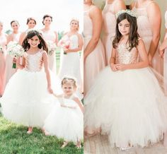 The bridesmaid dresses uk which match the flowers-absolutely gorgeous blush rose gold sequins wedding party flower girls' dresses 2017 cap sleeve puffy ball gown little girl formal dress is offered in hot_sales_dress and on DHgate.com cute dresses along with red dresses are on sale, too.