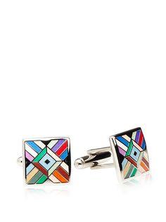 $28 Joseph Abboud Men's Mosaic Cufflinks at MYHABIT - Join Now: http://myhabit.com/ref=qd_mr_per_l?refcust=YZAMLAPUXRB4FJX7677FZCMTL4