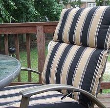 waterproofing outdoor seat cushions @laurel herzog
