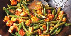 Szechuan Tofu & Green Bean Stir-Fry Recipe | Kitchen Daily