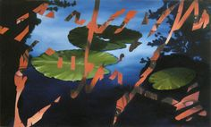 Jan Wisse, 2009-2013, Naiads, Oil on Panel, 45x75cm private collection, Zoeterwoude