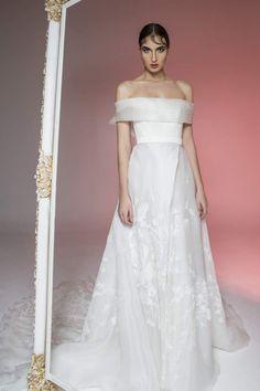 image057 Got Married, Getting Married, Formal Dresses, Wedding Dresses, Bridal Gowns, One Shoulder Wedding Dress, Floral, Fashion, Formal Gowns