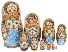 Matryoshka or Stacking Doll