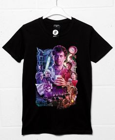 The 'Burbs Montage T Shirt - Black / Large