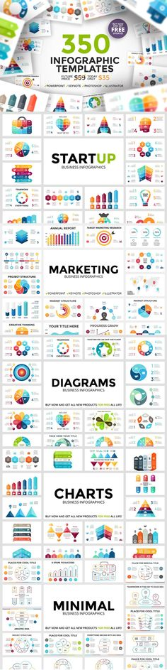 Biggest collection of infographic templates on the internet!