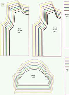 Free Sewing Patterns: Free Printable PDF Patterns and Tutorials Get Z . - Free Sewing Patterns: Free Printable PDF Patterns and Tutorials Get Z …, - Sewing Projects For Beginners, Sewing Tutorials, Sewing Hacks, Sewing Crafts, Sewing Tips, Pattern Drafting Tutorials, Diy Crafts, Sewing Patterns Free, Free Sewing