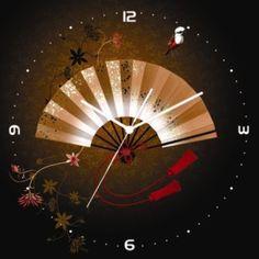 Large black asian decor wall clock by TimelessDecor on Etsy, $180.00 Mission Hills, Asian Decor, Dorm Decorations, Large Black, Clocks, Zen, Oriental, Wall Decor, Diy Crafts