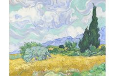 Exhibition features fifty paintings and drawings focused on Van Gogh's passion for the natural world