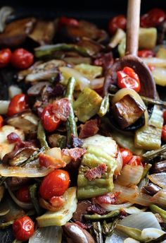 Pinakbet!  Roasted!  A different way of making it ;)  @Valerie Knott @Deedee Bashaw