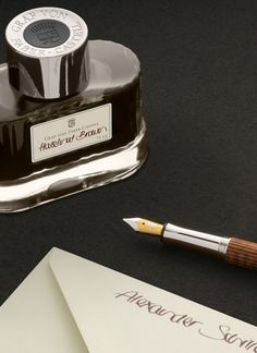The fountain pen is characterised by its nib created almost exclusively manually in over 100 steps, and finally inscribed by hand.   The combination of 18-carat gold with silver-coloured rhodium, and the exceptionally polished iridium tip ensures that felicitous interplay of softness, hardness, tension, and elasticity which in the end constitutes the pleasure of writing. #fountainpen #luxury #snakewood #ink #penmanship #craftmanship