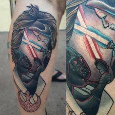 Znalezione obrazy dla zapytania ron swanson tattoo