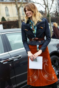 Street Style: Haute Couture Spring 2015
