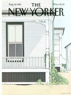 The New Yorker - Monday, August 9, 1982 - Issue # 2999 - Vol. 58 - N° 25 - Cover by : Gretchen Dow Simpson