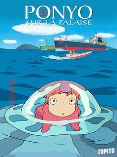 Top 10 des affiches de Miyazaki animées en gifs, un petit hommage pour un grand monsieur Hayao Miyazaki, Otaku Anime, Manga Anime, Ponyo Anime, Film Animation Japonais, Studio Ghibli Films, Wallpaper Wa, Night Film, Comic Manga