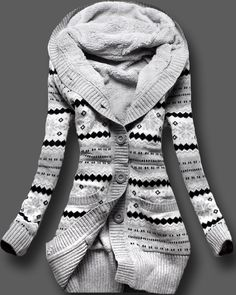 OMG!!!  I love this.. and it's a Norwegian sweater!!! MAN!!.