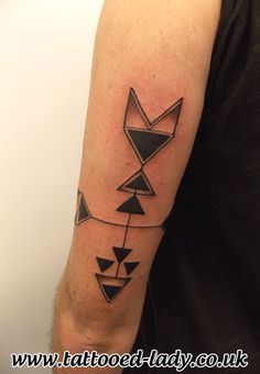 Arrow Tattoo by Tattooed Lady