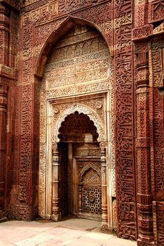 Qutub Minar @ Delhi, INDIA