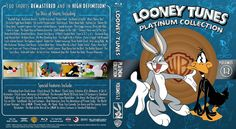 Looney Tunes Platinum Collection Volumes 1-2 Blu-ray Custom Cover