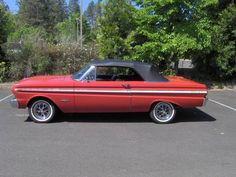 1 of 300 '65 Falcon Sprint Convertibles built