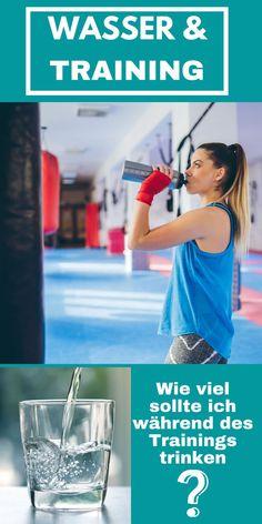 Wie viel Wasser braucht Dein Körper im Training? Auf unserem Blog erfährst Du es. #trinkensport #trinkenbeimsport #