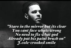 J Cole Crooked Smile Lyrics J Cole on Pinterest | ...