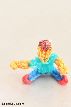 How to Make a Rainbow Loom Action Figure
