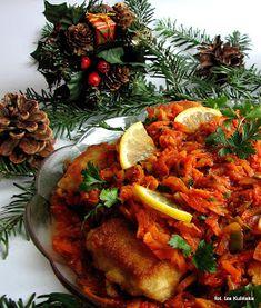 Ryba po grecku. Ryba w warzywach