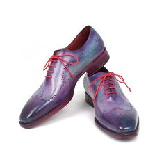 Oxfords Chaussures violet pour hommes, collection Paul Parkman / USA
