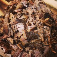 Brisket Barbecue // Crockpot Recipe - seems simple enough!  Will have to give it a try!