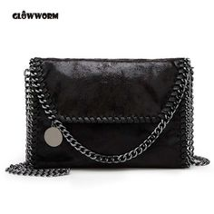 29b8e5a80772 2017 New Women Message Bag Pu Fashion Portable 2 Chains Bag Woven Shoulder  bag bolsa feminina carteras mujer stella handbags