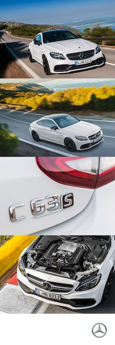 The new 2017 Mercedes-AMG C63 S COUPE offers unequivocal sport performance with just a push of the pedal.