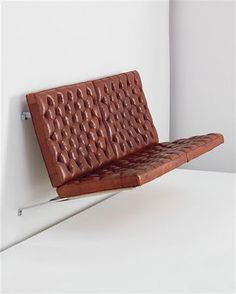 POUL KJÆRHOLM's Suspended sofa. Danish Furniture