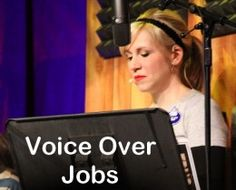 Voice Over Jobs - a lucrative way of making money. #voiceover #voiceartist