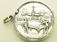 A fine and collectable antique Edwardian English sterling silver vesta case with billiard interest; an addition to our sports related silverware collection