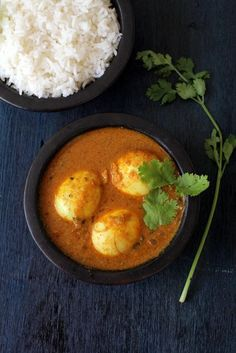 Tamil style egg curry