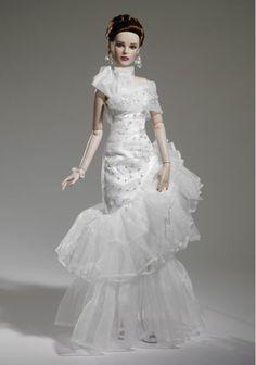 Gorgeous Modern bride. Tonner OOAK Barbie doll